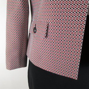 Kasper Skirts - Kasper Plus Size Red Black Skirt Suit Career 14